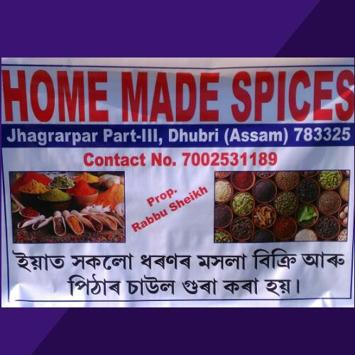 HOME MADE SPICES